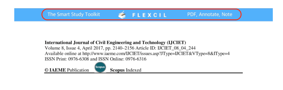 flexcil watermark upper