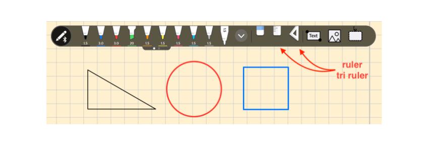 flexcil ruler and tri-ruler
