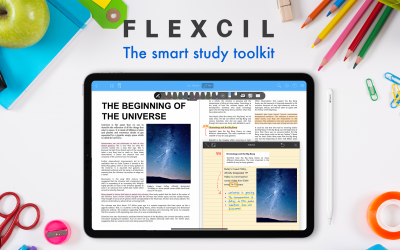 PDF & Note-Taking App 'Flexcil'